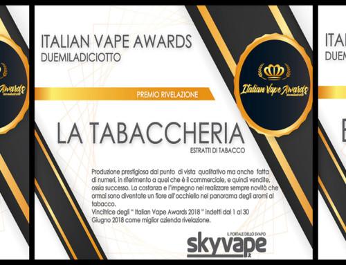 Skyvape Italian vape awards